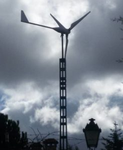 aerogenerador doméstico para la autosuficiencia energética
