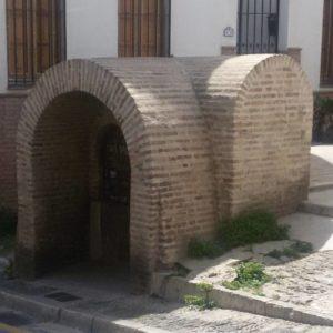 Aljibe para almacenamiento de agua