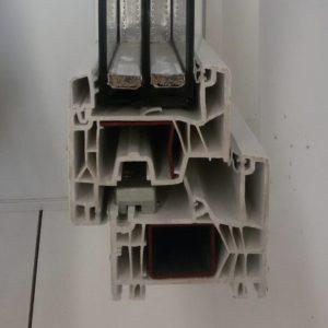 Ventana de carpintería de PVC