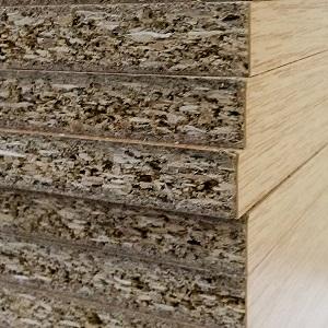 Tablero estructural aglomerado de madera