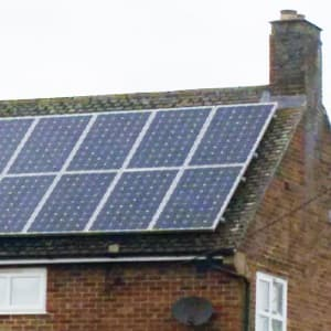 Instalación de placas fotovoltaicas en vivienda unifamiliar