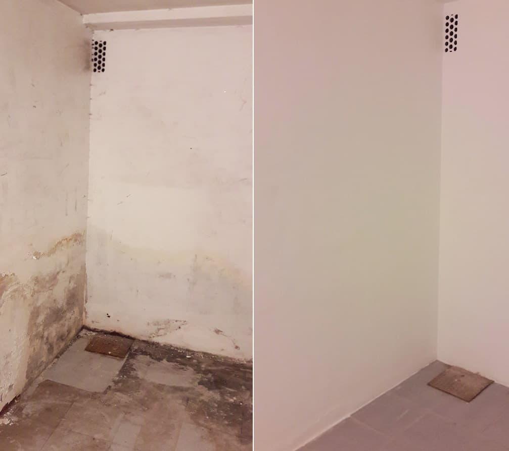 Solucionar humedades paredes interiores
